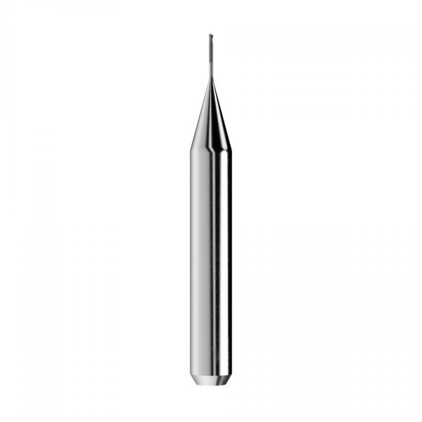 VHM-Radiusfräser Ø0,6mm, optimiert für die Zirkonoxid-Bearbeitung