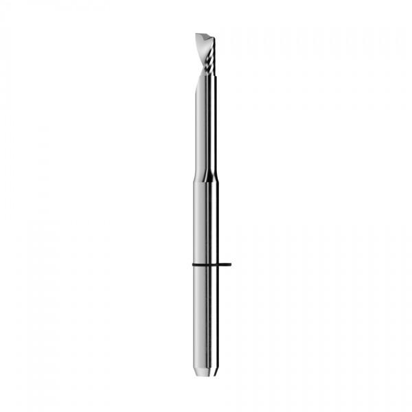 VHM-Schaftfräser Ø2,5mm, optimiert für die PMMA-Bearbeitung