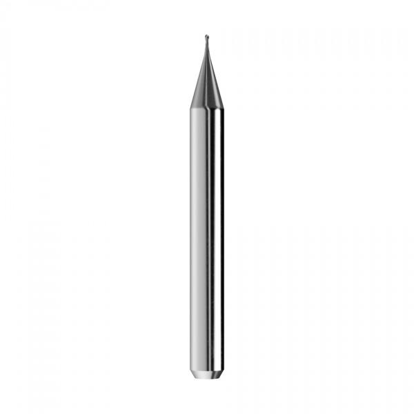 VHM-Radiusfräser Ø0,5mm, optimiert für die CoCr-Bearbeitung