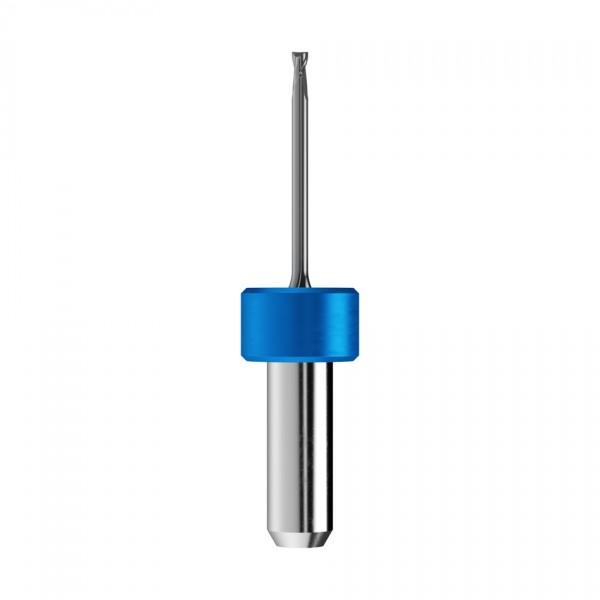 VHM-Schaftfräser Ø1,5mm, optimiert für die CoCr, Titan-Bearbeitung