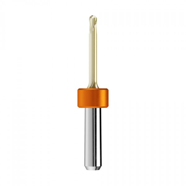 VHM-Radiusfräser Ø3mm, optimiert für die Zirkonoxid, PMMA-Bearbeitung