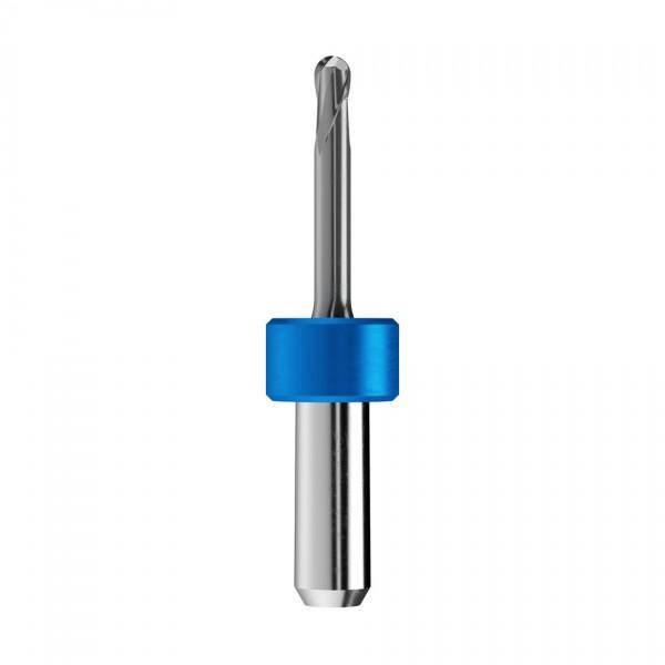 VHM-Radiusfräser Ø3mm, optimiert für die CoCr, Titan-Bearbeitung