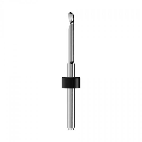 VHM-Radiusfräser Ø2,5mm, optimiert für die PMMA, PEEK, Wachs-Bearbeitung