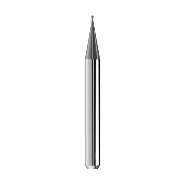 VHM-Radiusfräser Ø0,6mm, optimiert für die Titan-Bearbeitung
